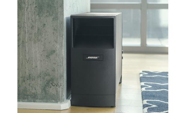 Bose® Acoustimass® 10 Series V home theater speaker system powered Acoustimass module