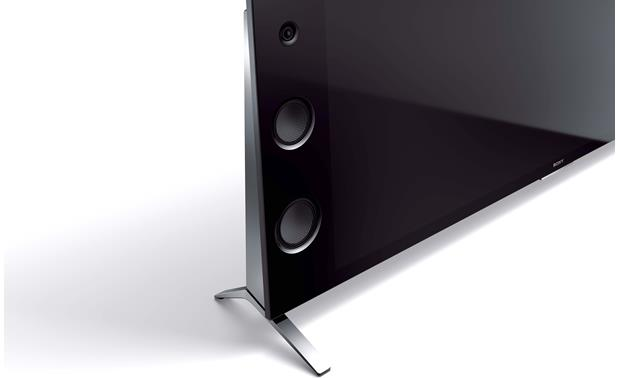 Sony XBR-65X930C Close-up view of built-in speakers