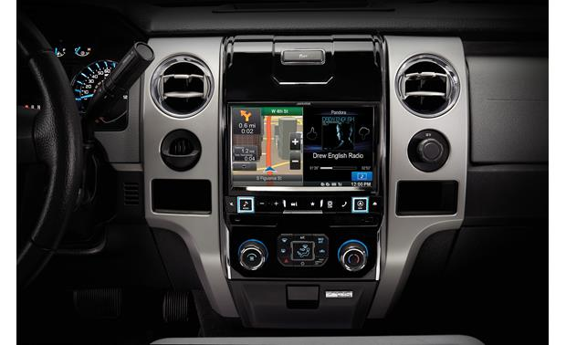 Alpine X009-FD2 In-Dash Restyle System The installed Restyle system offers a 9