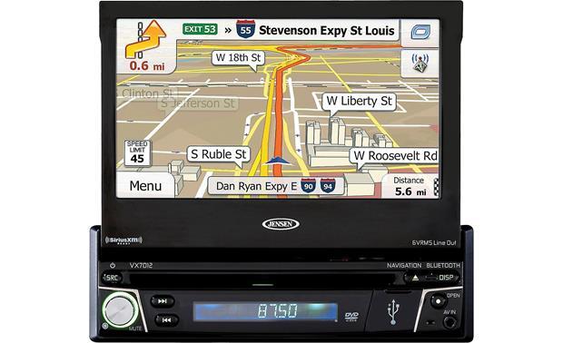 jensen vx7012 navigation receiver at crutchfield com rh crutchfield com Jeep Wrangler Vehicle 2009 4 Door Jeep Wrangler