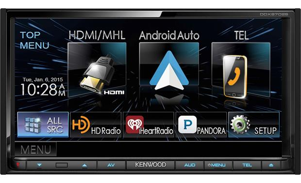 Kenwood DDX9702S Android Auto lets you use the apps on your Android phone safely in your car