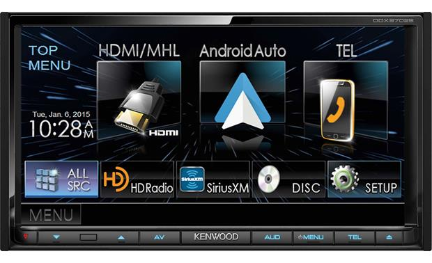 Kenwood DDX9702S Android Auto makes driving with your Android phone safer and more productive