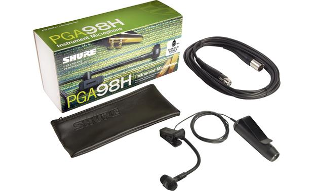 Shure PGA98HX Mic with included accessories