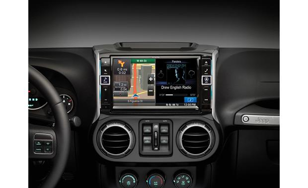 Alpine X009-WRA In-Dash Restyle System The installed Restyle system offers a 9