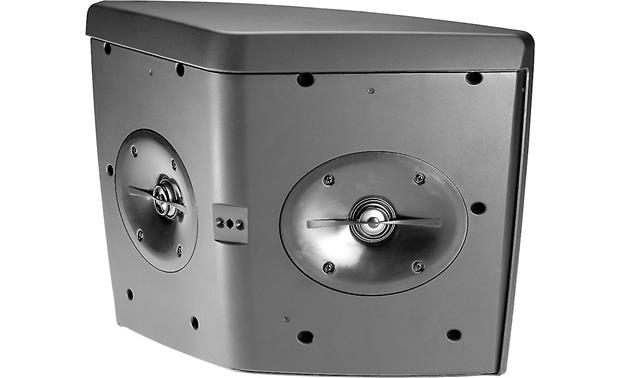 JBL Control® HST Splayed tweeters improve sound dispersion