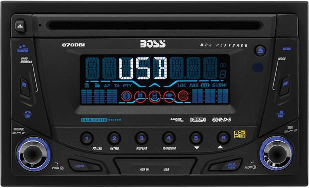 boss 870dbi cd receiver at crutchfield com boat stereo system wiring diagram boss 870dbi bluetooth® wireless convenience and a detachable faceplate come in handy