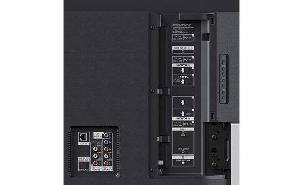 sony 900e 65. sony xbr-65x900c back (a/v inputs) 900e 65