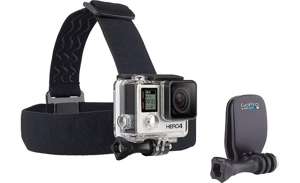 GoPro Head Strap and Quick Clip Front (camera not included)