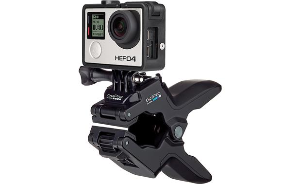GoPro Jaws Flex Clamp Attach directly to the clamp for greater stability