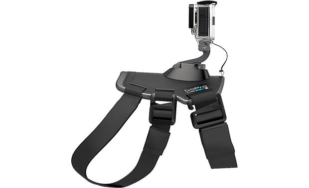GoPro Fetch™ Dog Harness A camera tether provides additional security for the HERO