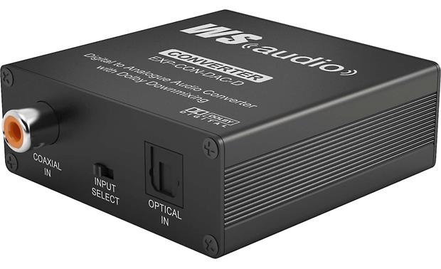 WyreStorm Express™ EXP-CON-DAC-D Digital-to-Analog Converter Front