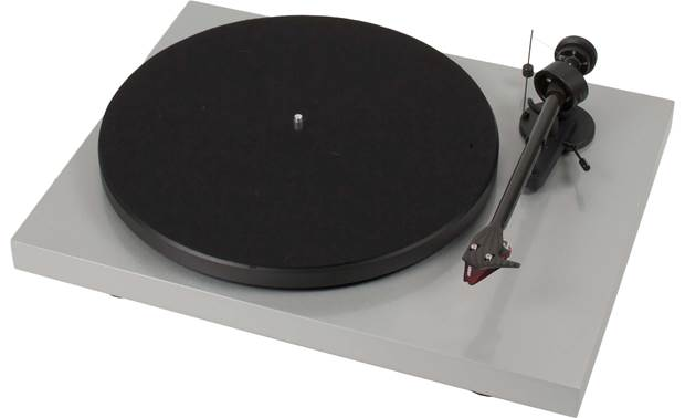 Pro-Ject Debut Carbon (DC) Silver (dust cover included, not shown)