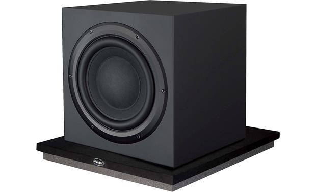 Auralex SubDude-HT™ Pictured with subwoofer (not included)