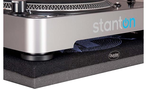Auralex  ISO-Tone™ Shown with turntable (not included)