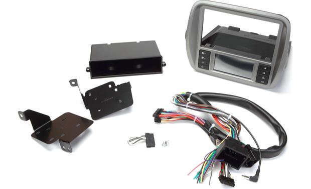 scosche gm5201ab dash and wiring kit with color lcd screen install and connect a new car