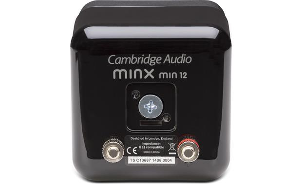 Cambridge Audio Minx Min 12 Back (Black)
