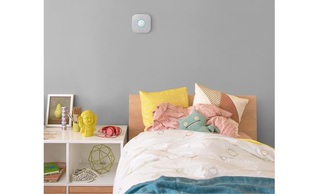 Nest Protect 3-pack (2nd Generation) The Nest Protect tells you exactly where a problem occurs