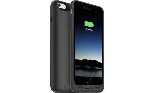 mophie juice pack® Front and back views (iPhone not included)