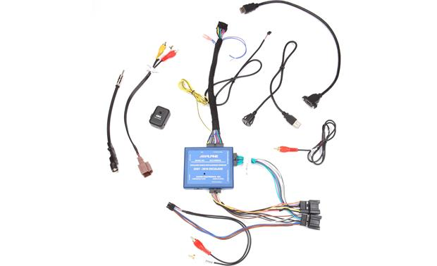 Alpine KTX-ESD8 Restyle Dash and Wiring Kit Other