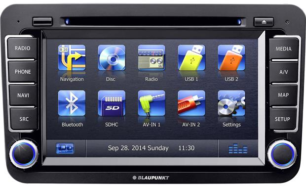 Blaupunkt Philadelphia 845 You can keep the factory feel of select 2005-up Volkswagen models.