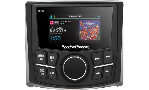 Rockford Fosgate PMX-1R Control your music from anywhere on your boat