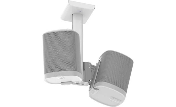 Flexson Tilt and Swivel Ceiling Mount Sonos Play:1 speakers not included