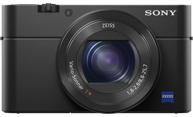 Sony Cybershot® DSC-RX100 IV Front, straight-on