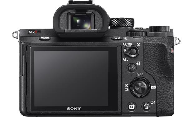 Sony Alpha a7R II (no lens included) Back