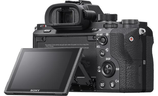 Sony Alpha a7R II (no lens included) LCD screen tilted up