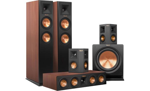 Klipsch RP-250 5.1 Home Theater Speaker System A complete high-performance 5.1 speaker system