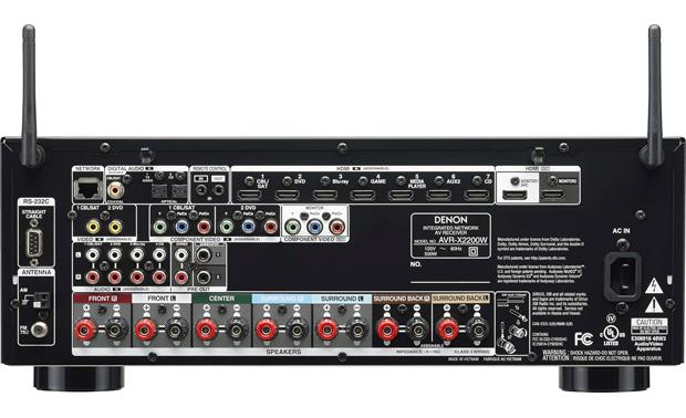 Denon AVR-X2200W IN-Command Back