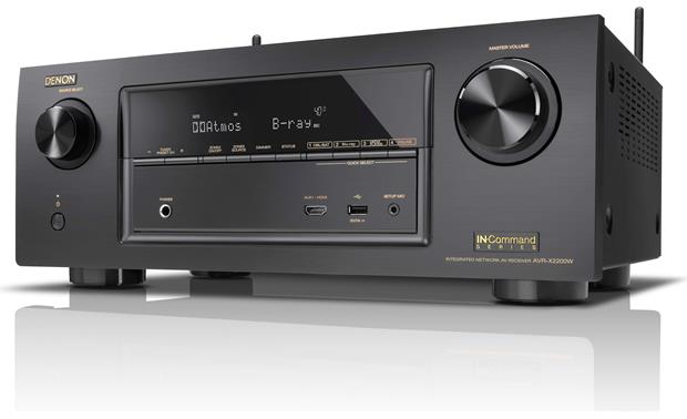 Denon AVR-X2200W IN-Command Angled view