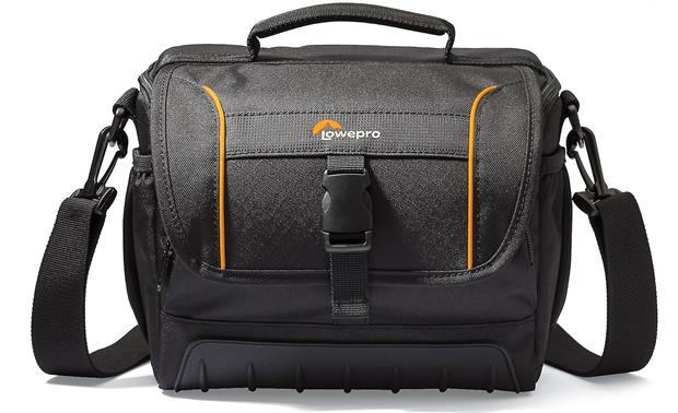 Lowepro Adventura SH 160 II Water-resistant top flap with clasp closure