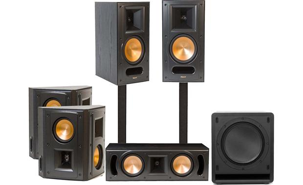 klipsch rb 61 ii 5 1 home theater speaker system featuring high performance klipsch reference ii. Black Bedroom Furniture Sets. Home Design Ideas
