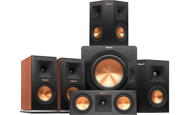 Klipsch RP-150 5.1 Home Theater Speaker System A complete high-performance 5.1 speaker system