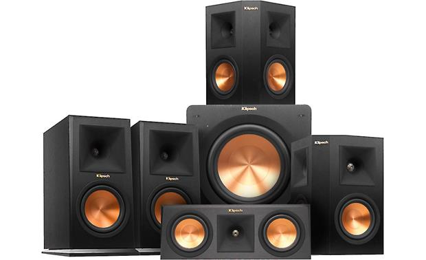 Klipsch RP-160 5.1 Home Theater Speaker System Classic Klipsch sound for your home theater