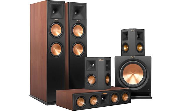 Klipsch RP-260 5.1 Home Theater Speaker System This Klipsch 5.1 package delivers big, room-filling sound