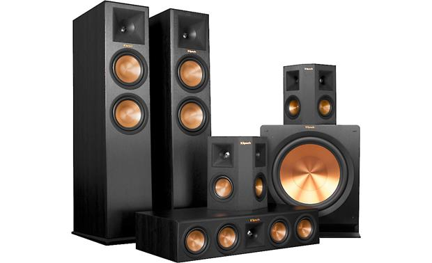 Klipsch RP-280 5.1 Home Theater Speaker System Huge, room-filling sound, courtesy of Klipsch