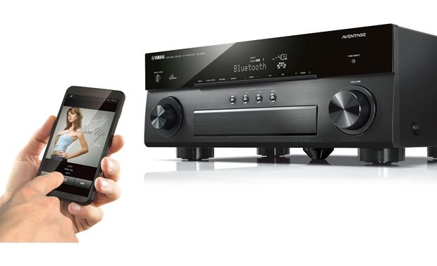 Yamaha AVENTAGE RX-A850 Built-in Bluetooth lets you stream music wirelessly from a compatible device