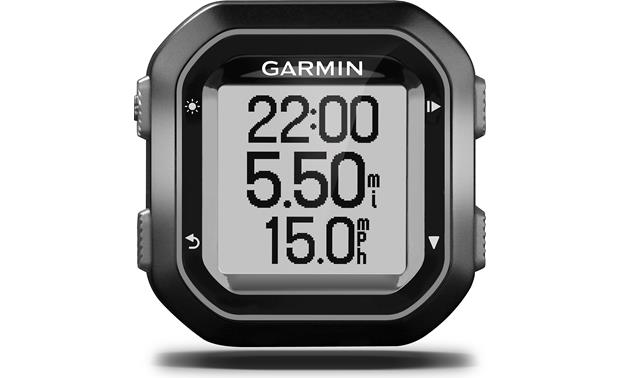 Garmin Edge® 20 You can easily track your time, distance, and speed with the Edge 20