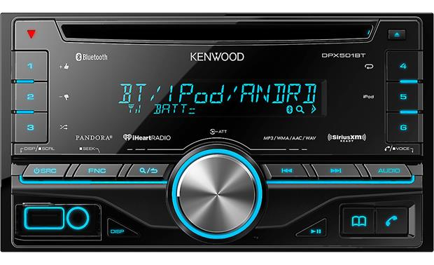 Kenwood DPX501BT User-friendly controls operate your Bluetooth® calls and wireless music