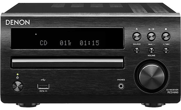 Denon D-M40 Receiver pictured without included speakers