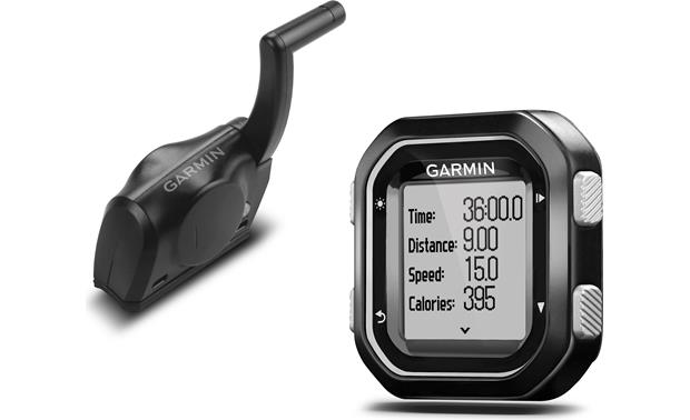 Garmin Edge 25 Cadence Bundle The Edge 25 is compatible with optional heartrate monitors