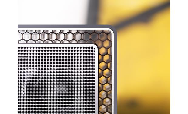 Bowers & Wilkins T7 A close-up of the honeycomb-like Micro Matrix frame
