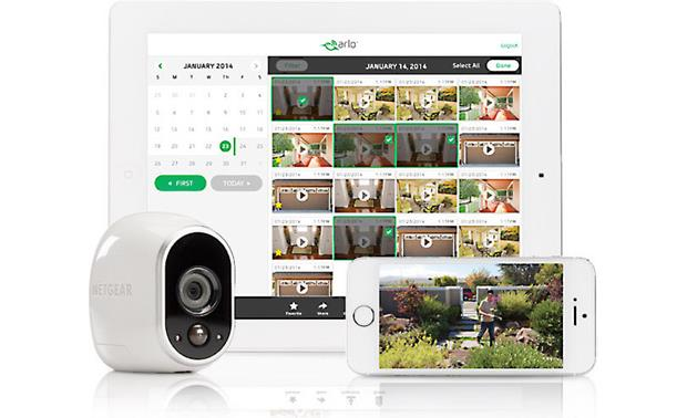 Arlo Smart Home Security Add-on Camera Add the camera to your existing Arlo network