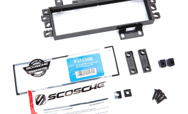 Scosche 010FJ1550B Dash Kit Other