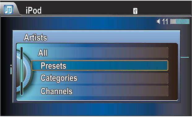 Vais Technology GSR-025 Search by presets, categories, or channels