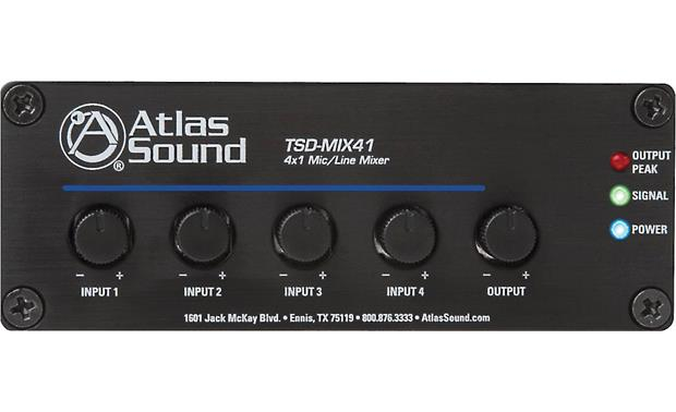 AtlasIED TSD-MIX41 Front