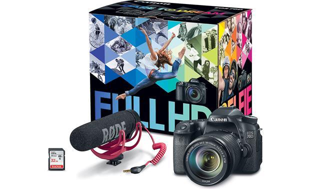 Canon EOS 70D Video Creator Kit 20-megapixel digital SLR