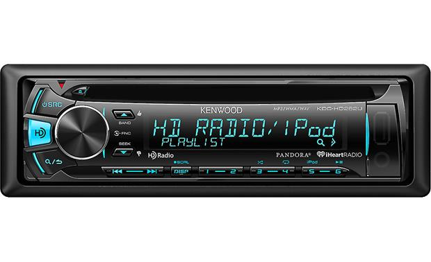 Kenwood KDC-HD262U Tune in HD Radio for crystal-clear radio from select stations